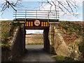 T0022 : Railway bridge over drive to Slaney Manor by David Hawgood