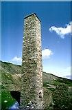 NY9700 : Smeltmill chimney by Andy Waddington