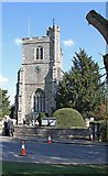 TL3706 : St Augustine of Canterbury, Broxbourne, Herts - Tower by John Salmon