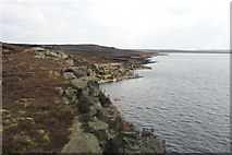 SD9521 : Warland Reservoir by Kevin Rushton
