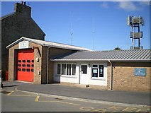 SM7525 : Fire Station at St David's by Richard Law