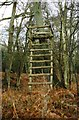 SU4672 : Hunter's High Seat - Bussock Wood by Standish