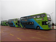 TL4662 : New buses for the Cambridge Guided Busway by Keith Edkins