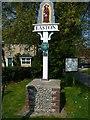 TG1310 : Village Sign by Craig Tuck