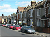 TQ7369 : Houses on Northcote Road, Strood (2) by Danny P Robinson