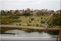 NT9953 : River Tweed and Castle Remains by SMJ