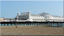 TQ3103 : Brighton Beach by Peter Trimming