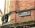 J3374 : Street sign, Belfast by Albert Bridge