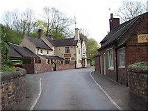 SJ6902 : The Shakespeare Inn, Coalport by Geoff Pick