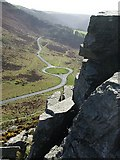 SS7049 : Roundabout, Valley of Rocks by Rob Farrow
