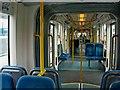 SK5343 : Nottingham Express Transit tram interior by L S Wilson