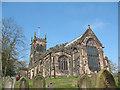 SJ7560 : East end of St Mary's parish church, Sandbach by Stephen Craven