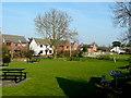 SP7090 : Shoulder Of Mutton pub garden, Foxton by Jonathan Billinger