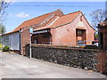 TL9686 : Bridgham Village Hall by Adrian Cable