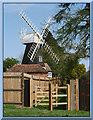 TQ9550 : Charing Windmill by Paul