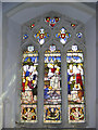 TM3865 : Window in St.Mary's Church, Kelsale by Adrian Cable