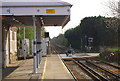 TQ6850 : Level crossing by Yalding Station by N Chadwick