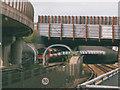 TQ3981 : Canning Town interchange: Jubilee line northwards by Stephen Craven