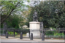 TQ2882 : Statue of The Duke of Kent, Park Crescent by N Chadwick