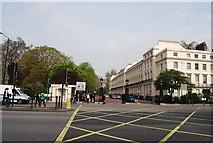 TQ2882 : Gates to Park Square of Marylebone Rd by N Chadwick