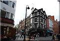 TQ2981 : The three Greyhounds, Old Compton St & Greek St, Soho by N Chadwick