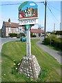 TG1240 : Village Sign by Craig Tuck