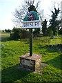 TF9521 : Village Sign by Craig Tuck