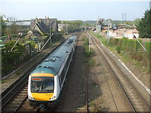 TG2407 : Diesel unit on its way to Cambridge by Ashley Dace