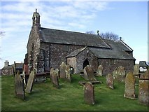 NY0638 : Church of St John the Evangelist, Crosscanonby by John Lord
