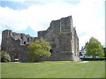 TR1457 : Canterbury castle by pam fray