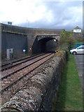 NY6565 : Railway Tracks and Bridge at Greenhead by Darrin Antrobus