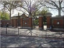 TQ3287 : Manor House Gate, Finsbury Park by Oxyman
