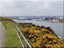 NJ9505 : Aberdeen Harbour by Ewen Rennie