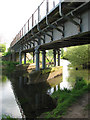 TG2322 : Steel girder bridge over the River Bure by Evelyn Simak