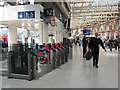 TQ3179 : New ticket barriers at Waterloo by Stephen Craven
