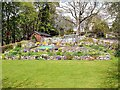 NY9984 : Garden at Kirkwhelpington by Oliver Dixon
