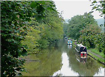 SJ9922 : Trent and Mersey Canal, Great Haywood, Staffordshire by Roger  Kidd