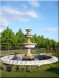 TQ2882 : One of the Italianate fountains situated near the Broad Walk in Regent's Park by pam fray
