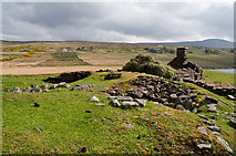 NC0206 : Broch at Loch Poll na Dunain by Peter Gamble