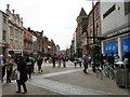 SE3033 : Top end of Briggate by Gerald England