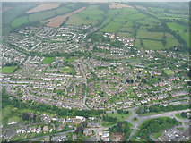 SS9612 : Tiverton : Aerial View by Lewis Clarke
