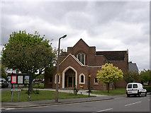 TQ1289 : Pinner Methodist church by David Kemp