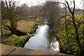 NO3747 : View of Dean Water looking downstream near Bridgend, Glamis by Alan Morrison
