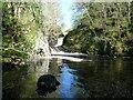NX6188 : Chapel Linn (waterfall) Blackwater Burn by J Taylor