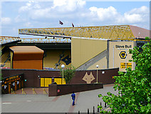SO9199 : Molineux football ground, Wolverhampton by Roger  Kidd