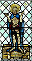 TG2701 : All Saints Church - medieval glass by Evelyn Simak