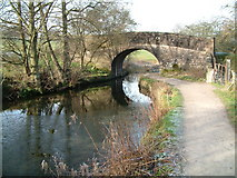 SK3056 : Bridge over Cromford Canal by JThomas