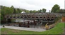 NN1176 : Banavie railway swing bridge by David Long