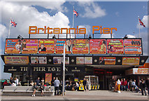 TG5307 : Britannia Pier by Stephen McKay