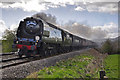 SO3321 : Steam on the Marches Line by Stuart Wilding